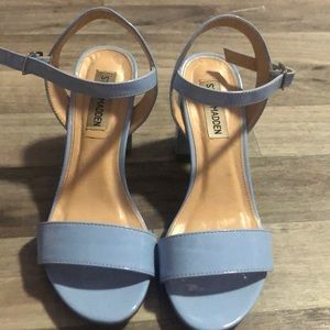 Steve Madden baby blue heels